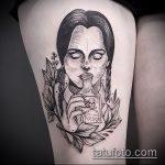 Фото готической татуировки - 30052017 - пример - 037 Gothic tattoo
