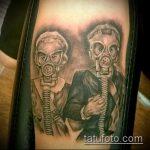 Фото готической татуировки - 30052017 - пример - 038 Gothic tattoo