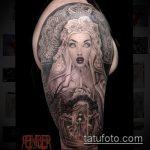 Фото готической татуировки - 30052017 - пример - 041 Gothic tattoo