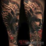 Фото готической татуировки - 30052017 - пример - 043 Gothic tattoo