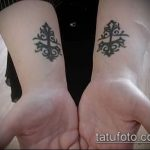 Фото готической татуировки - 30052017 - пример - 044 Gothic tattoo
