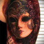 Фото готической татуировки - 30052017 - пример - 048 Gothic tattoo