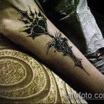 Фото готической татуировки - 30052017 - пример - 049 Gothic tattoo