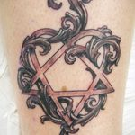 Фото готической татуировки - 30052017 - пример - 050 Gothic tattoo