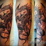 Фото готической татуировки - 30052017 - пример - 056 Gothic tattoo