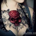 Фото готической татуировки - 30052017 - пример - 059 Gothic tattoo