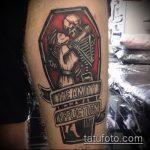 Фото готической татуировки - 30052017 - пример - 061 Gothic tattoo