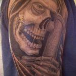 Фото готической татуировки - 30052017 - пример - 062 Gothic tattoo