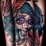 Фото готической татуировки - 30052017 - пример - 064 Gothic tattoo