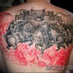 Фото готической татуировки - 30052017 - пример - 066 Gothic tattoo