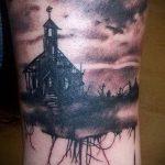 Фото готической татуировки - 30052017 - пример - 067 Gothic tattoo
