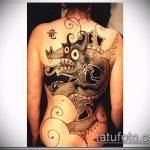 Фото готической татуировки - 30052017 - пример - 068 Gothic tattoo