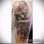 Фото готической татуировки - 30052017 - пример - 069 Gothic tattoo