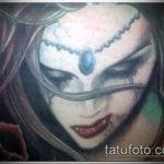 Фото готической татуировки - 30052017 - пример - 075 Gothic tattoo
