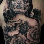 Фото готической татуировки - 30052017 - пример - 077 Gothic tattoo
