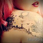 Фото готической татуировки - 30052017 - пример - 081 Gothic tattoo