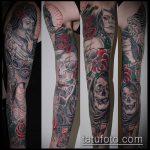 Фото готической татуировки - 30052017 - пример - 084 Gothic tattoo