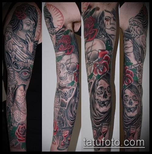 Готическая татуировка Gothic tattoo - Виды, стили
