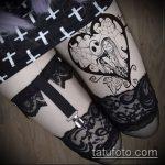 Фото готической татуировки - 30052017 - пример - 086 Gothic tattoo