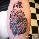 Фото готической татуировки - 30052017 - пример - 092 Gothic tattoo