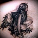 Фото готической татуировки - 30052017 - пример - 093 Gothic tattoo