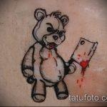 Фото готической татуировки - 30052017 - пример - 095 Gothic tattoo