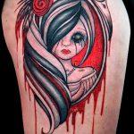 Фото готической татуировки - 30052017 - пример - 096 Gothic tattoo
