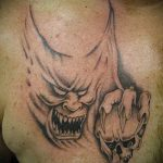 Фото готической татуировки - 30052017 - пример - 100 Gothic tattoo