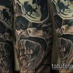 Фото готической татуировки - 30052017 - пример - 101 Gothic tattoo