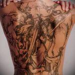 Фото готической татуировки - 30052017 - пример - 103 Gothic tattoo