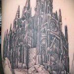 Фото готической татуировки - 30052017 - пример - 105 Gothic tattoo