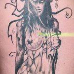 Фото готической татуировки - 30052017 - пример - 107 Gothic tattoo