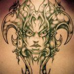 Фото готической татуировки - 30052017 - пример - 108 Gothic tattoo