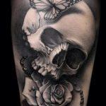 Фото готической татуировки - 30052017 - пример - 114 Gothic tattoo