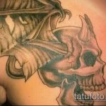 Фото готической татуировки - 30052017 - пример - 115 Gothic tattoo