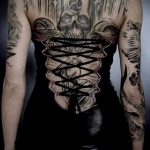 Фото готической татуировки - 30052017 - пример - 116 Gothic tattoo
