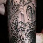 Фото готической татуировки - 30052017 - пример - 117 Gothic tattoo