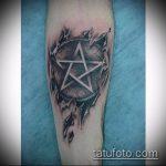 Фото готической татуировки - 30052017 - пример - 119 Gothic tattoo