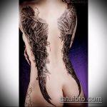 Фото готической татуировки - 30052017 - пример - 121 Gothic tattoo
