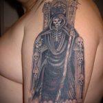 Фото готической татуировки - 30052017 - пример - 122 Gothic tattoo