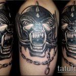 Фото готической татуировки - 30052017 - пример - 124 Gothic tattoo