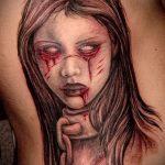Фото готической татуировки - 30052017 - пример - 128 Gothic tattoo