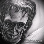 Фото готической татуировки - 30052017 - пример - 129 Gothic tattoo