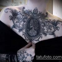 Фото готических тату