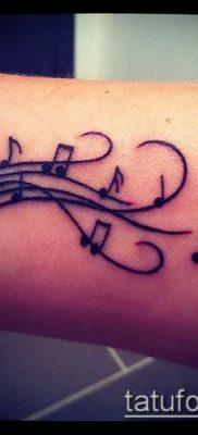 Фото музыкальных тату – 19062017 – пример – 001 Musical Tattoos – tatufoto.com
