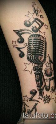 Фото музыкальных тату – 19062017 – пример – 002 Musical Tattoos – tatufoto.com