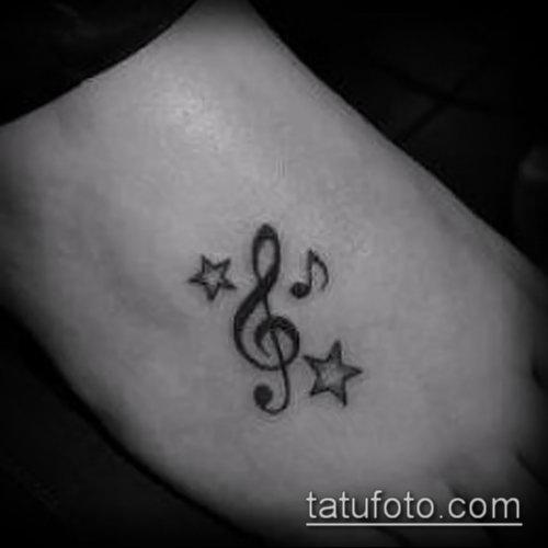 Фото музыкальных тату - 19062017 - пример - 005 Musical Tattoos - tatufoto.com