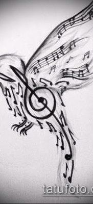Фото музыкальных тату – 19062017 – пример – 006 Musical Tattoos – tatufoto.com