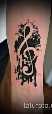 Фото музыкальных тату – 19062017 – пример – 008 Musical Tattoos – tatufoto.com