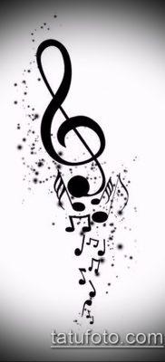 Фото музыкальных тату – 19062017 – пример – 009 Musical Tattoos – tatufoto.com